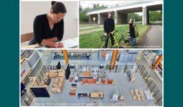 Genomineerden kunstproject Baanhoekweg Biesbosch