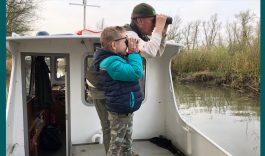 7-jarige Sem voor één dag Biesbosch boswachter