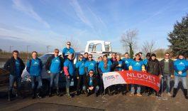 NL Doet actief in de Biesbosch