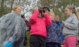 Kinderen springen de herfst in tijdens 'Groen doet goed'