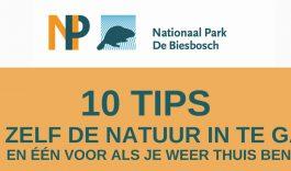 Tien tips om zelf de natuur in te gaan!