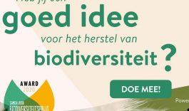 Win €25.000 voor jouw natuurherstelproject