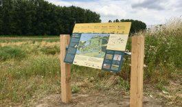 Nieuwe informatieborden Polder Stededijk
