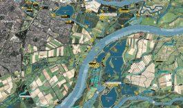 Nieuwe Recreatie- vaarkaart de Biesbosch
